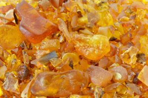 amber resin gemstone